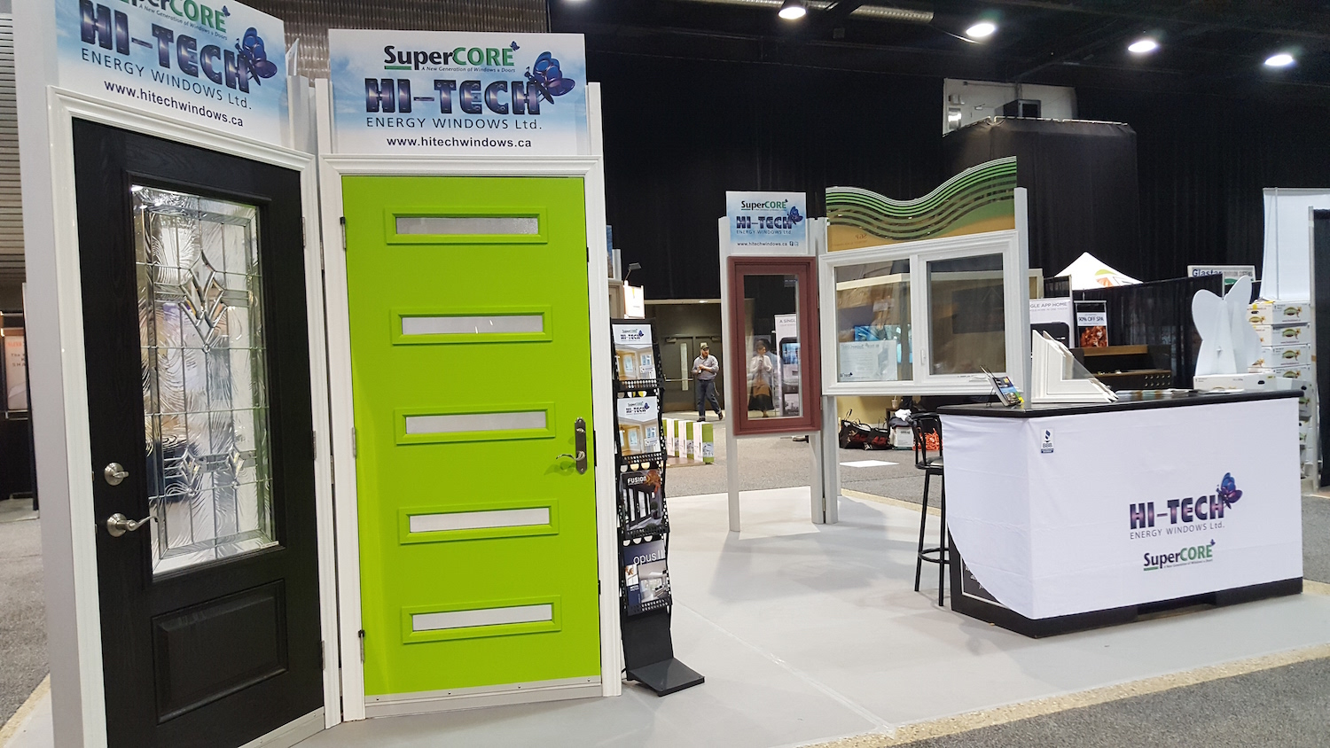 Hi-Tech at Winnipeg\'s Home and Garden Show - Hi-Tech Energy Windows