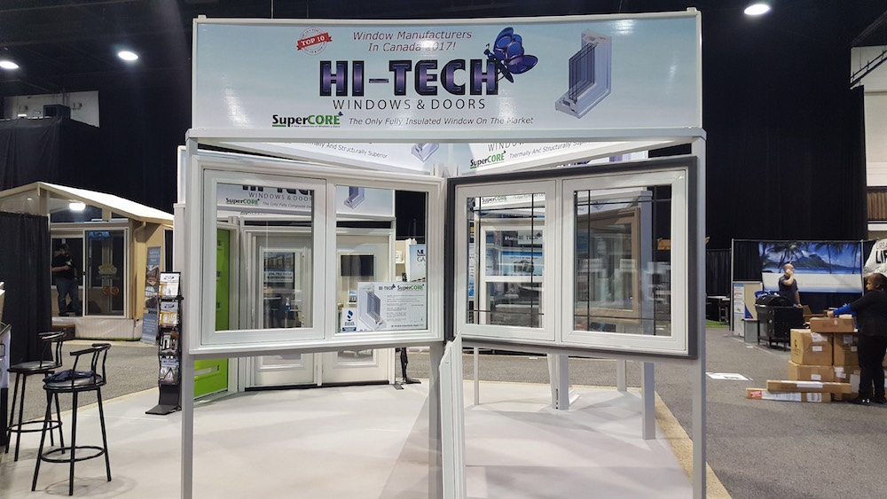 Winnipeg Home + Garden Show 2018 - Hi-Tech Energy Windows